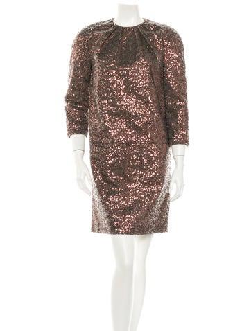 No. 21 Sequin Dress None