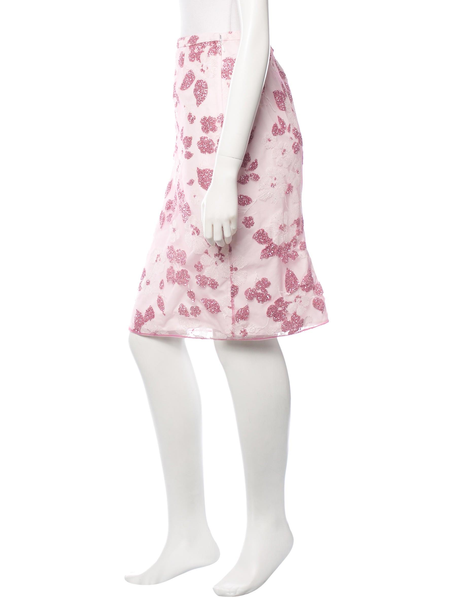 no 21 glitter pencil skirt clothing no220375 the