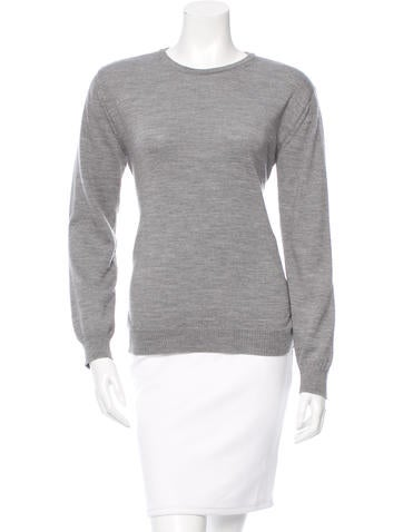 No. 21 Wool Long Sleeve Sweater None