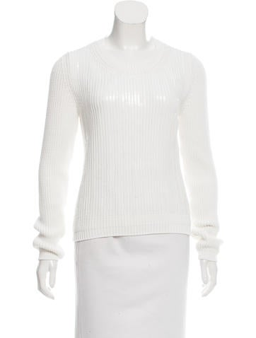 No. 21 Embellished Knit Sweater w/ Tags None