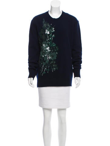 No. 21 Wool Embellished Sweater w/ Tags None