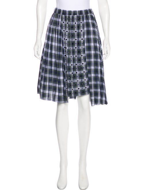 25e73ddf49 Nº 21 No. 21 Embellished Plaid Skirt w/ Tags - Clothing - NO221733 ...