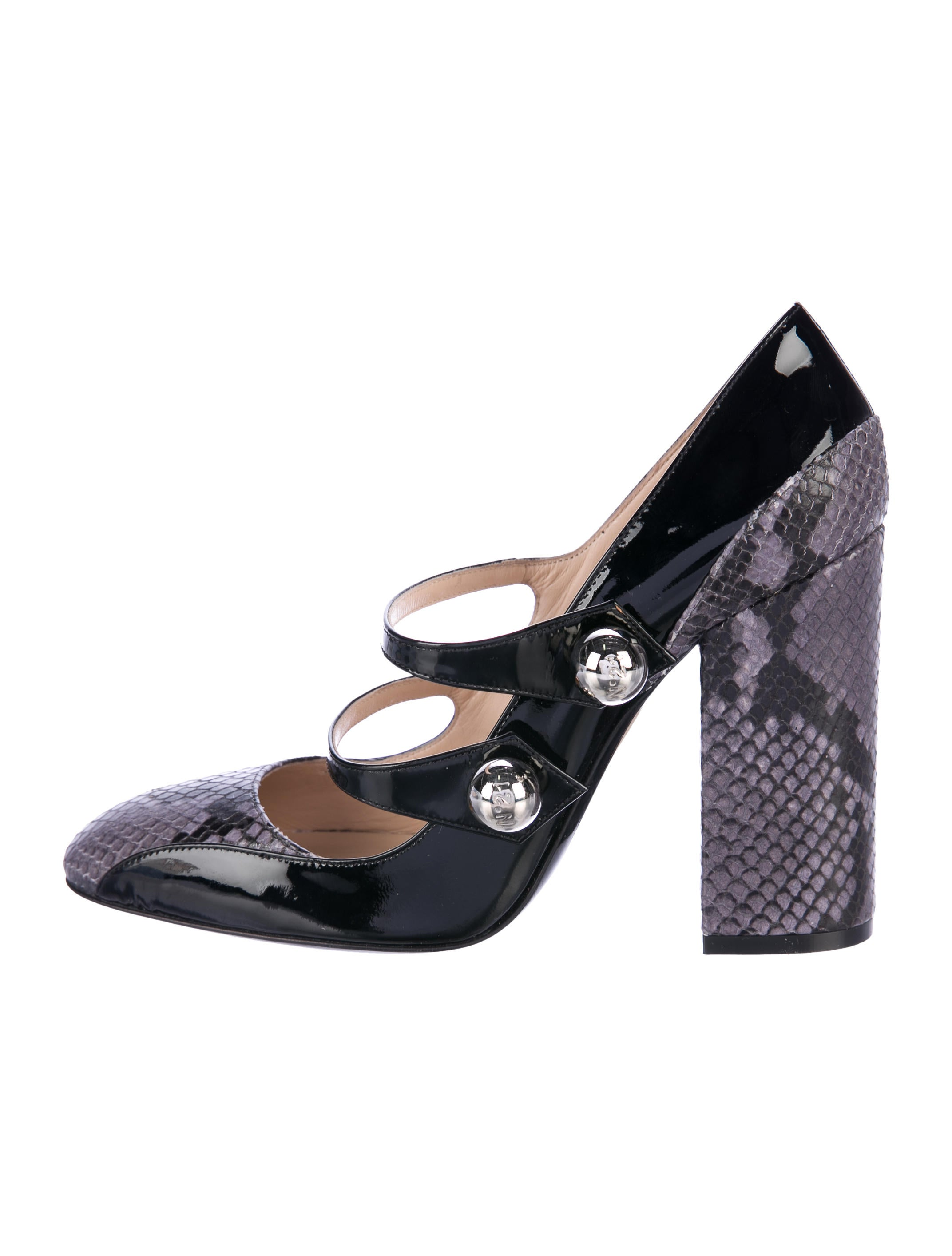 No. 21 Bicolor Mary Jane Pumps discounts for sale clearance store sale online pay with visa cheap online 6ZmZDvcs