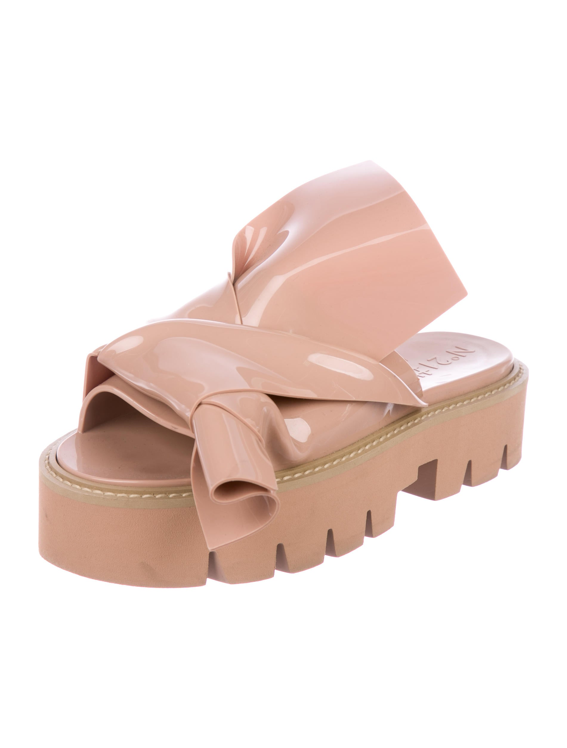 cheapest price cheap price No. 21 Rubber Slide Sandals browse clearance latest collections 42xQptWyJm