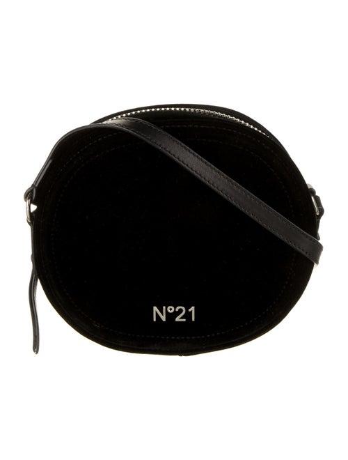 Nº 21 Velvet Crossbody Bag Black
