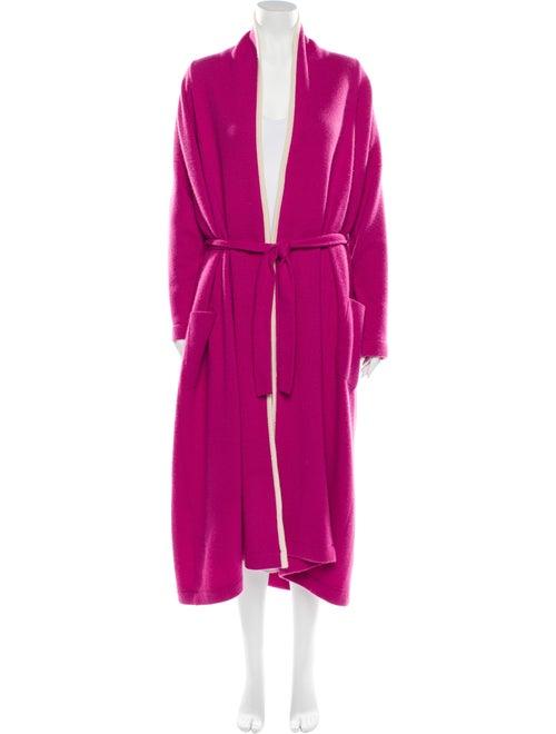 N. Peal Vintage Cashmere Robe Pink
