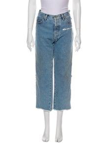 Natasha Zinko High-Rise Wide Leg Jeans