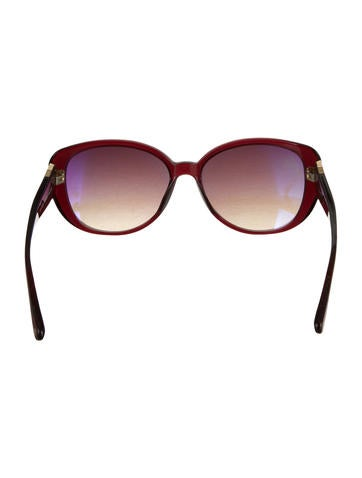 Oversize Cat-Eye Sunglasses