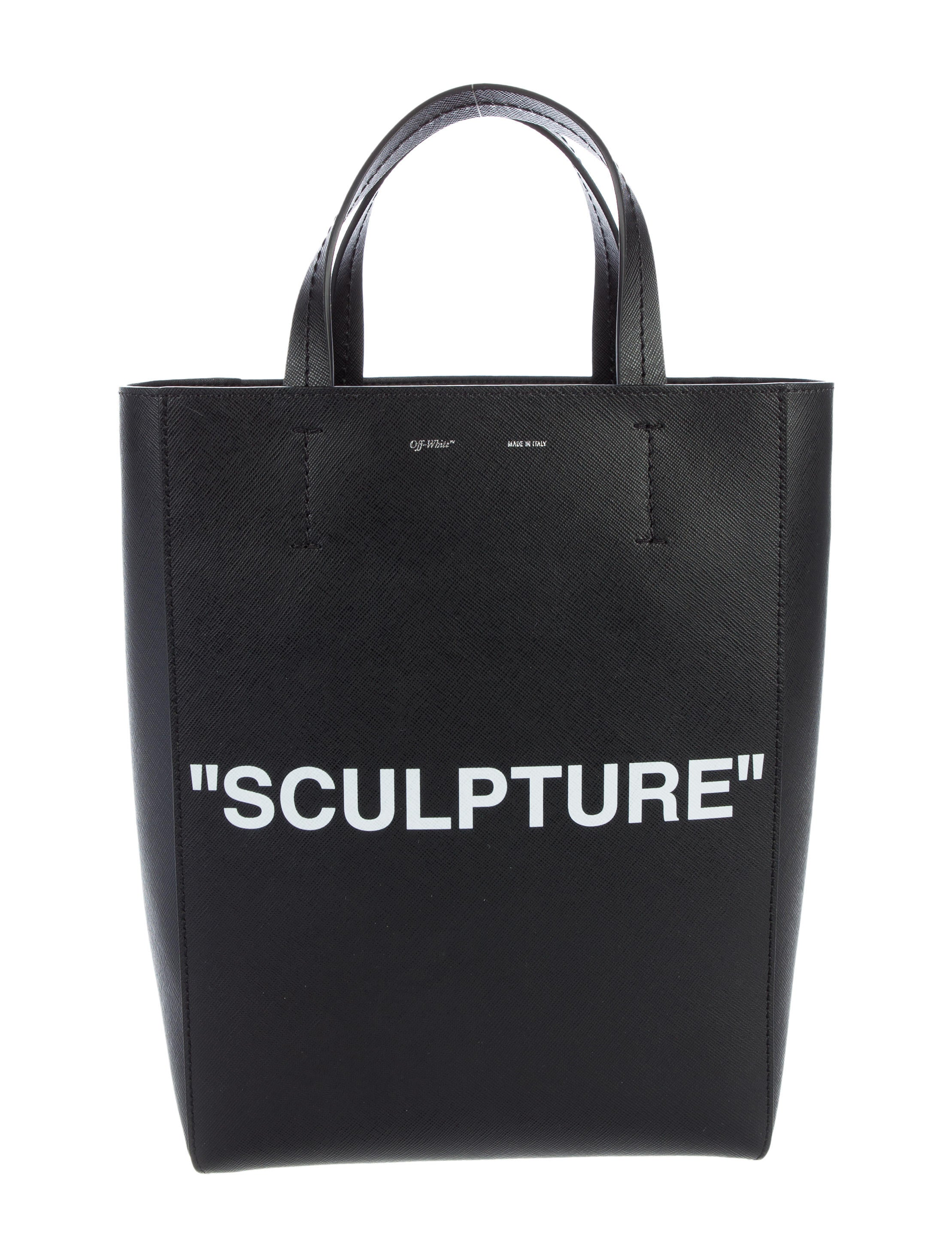 Off-White 2017 Sculpture Tote - Handbags - OFF20156 | The RealReal
