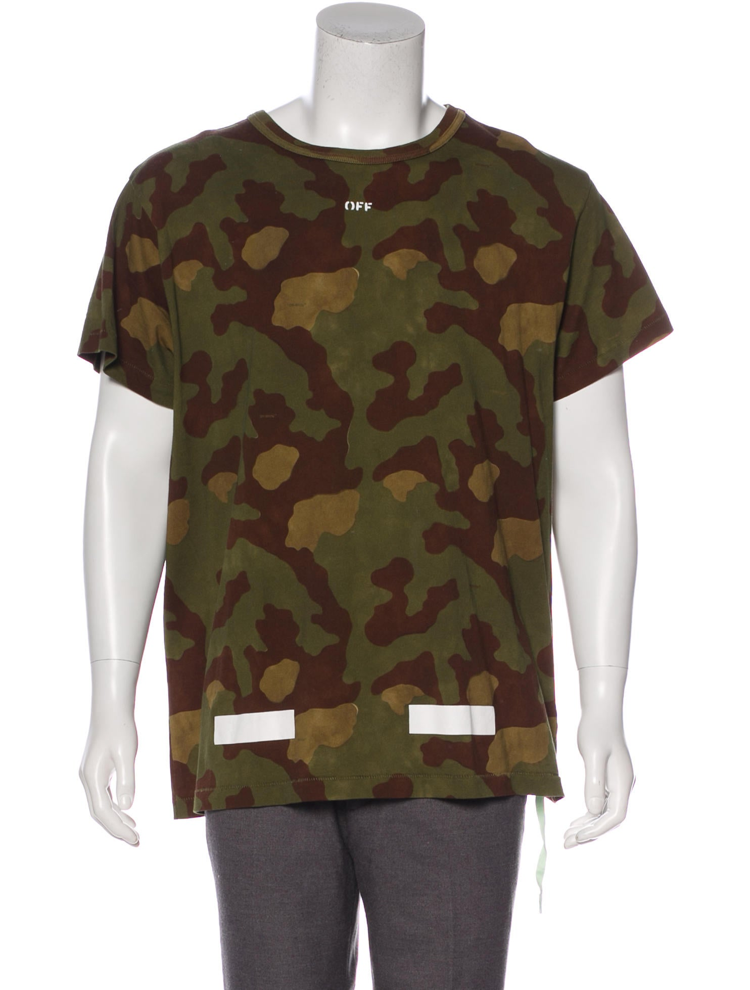 faa35def3e64 Off-White 2017 Camouflage Arrows T-Shirt - Clothing - OFF21325