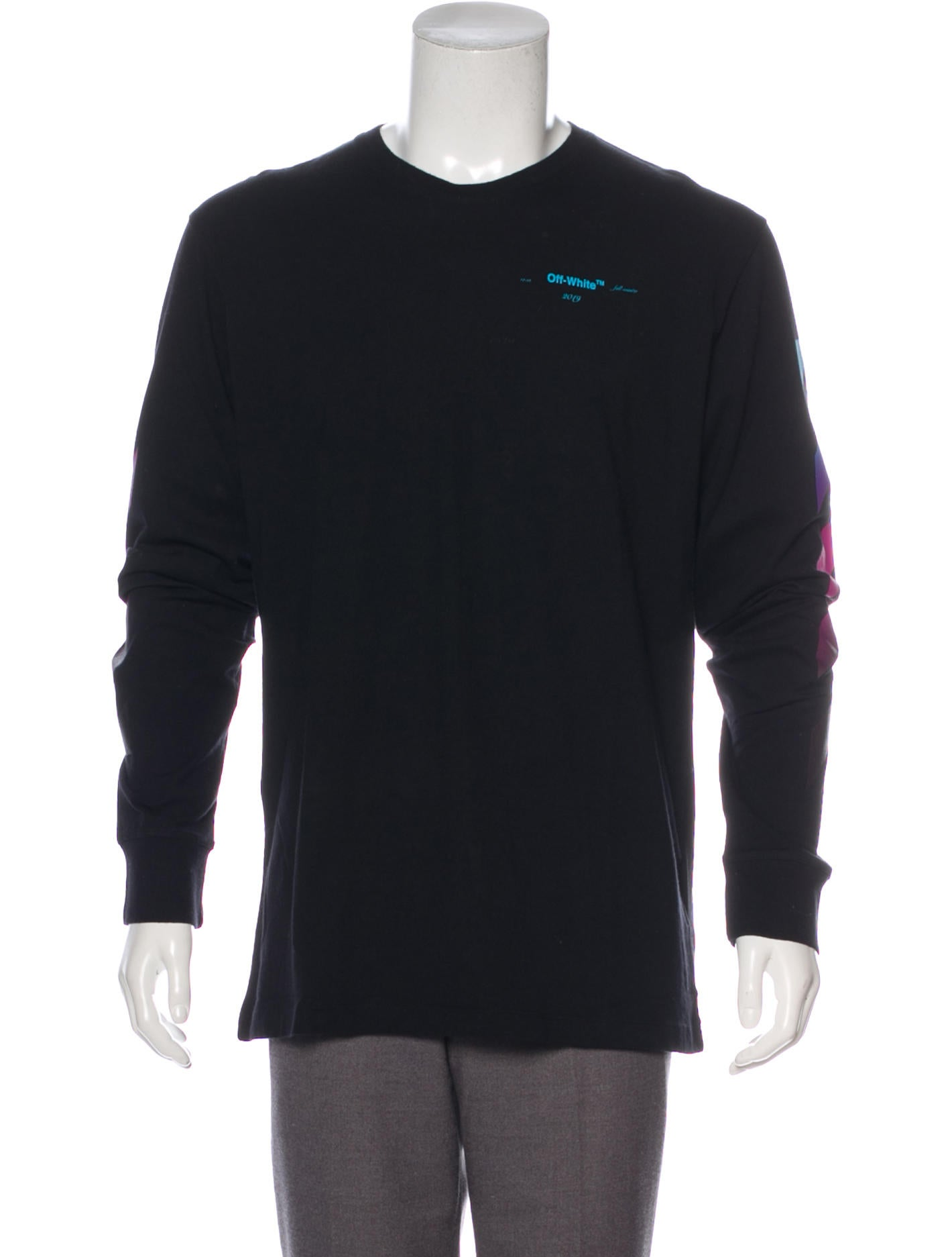 Off White 2018 Diagonals Gradient T Shirt W Tags Clothing