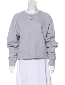 f4b8d833bc26 Off-White. Embroidered Crew Neck Sweatshirt