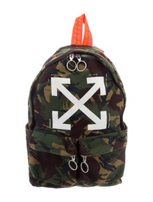 09b4eb5a3dea Off-White. Camouflage Brushed Diagonals Backpack