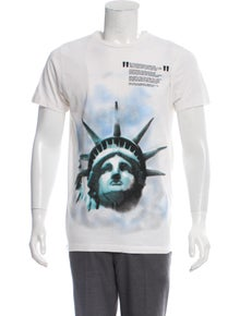 30758052 Off-White. Statue Of Liberty Graphic T-Shirt