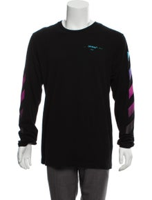 84cccb9bce Off-White. Diagonal Gradient T-Shirt. Size: XL