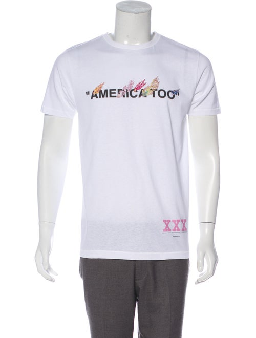 7ec88852 Off-White x Takashi Murakami 2018 America Too T-Shirt w/ Tags ...