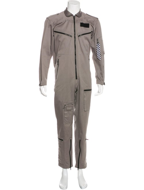 Off-White 2018 Workwear Jumpsuit grey