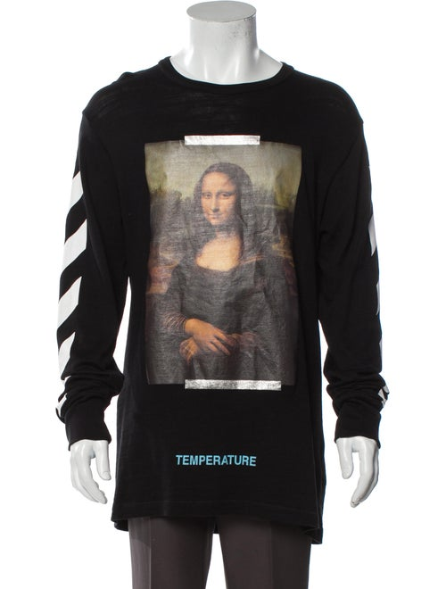 Off-White 2018 2018 Mona Lisa T-Shirt T-Shirt Whit