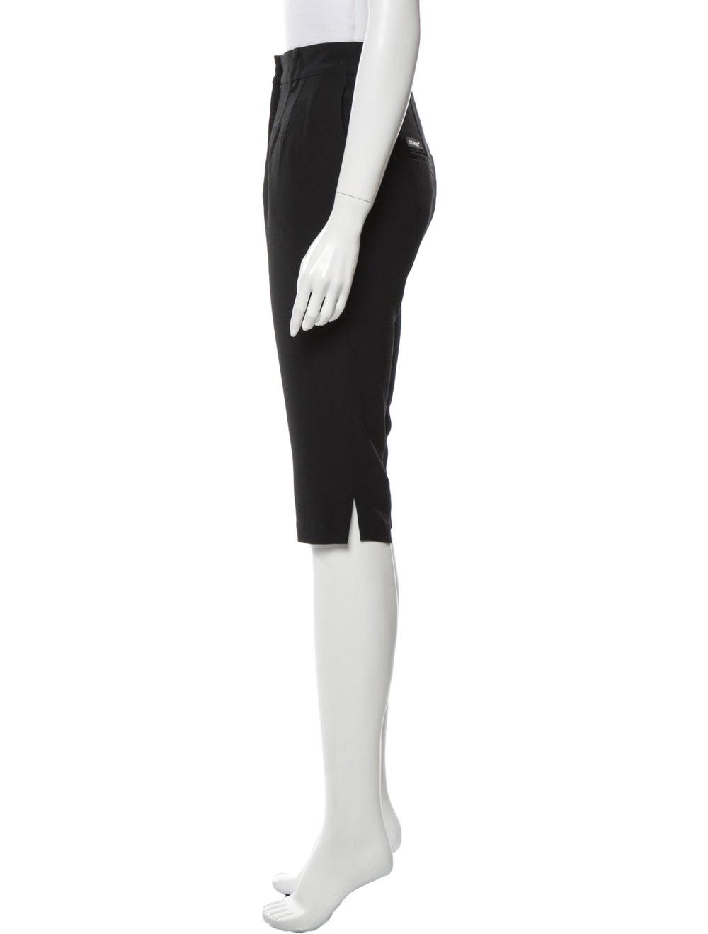 Off-White Knee-Length Shorts White - image 2