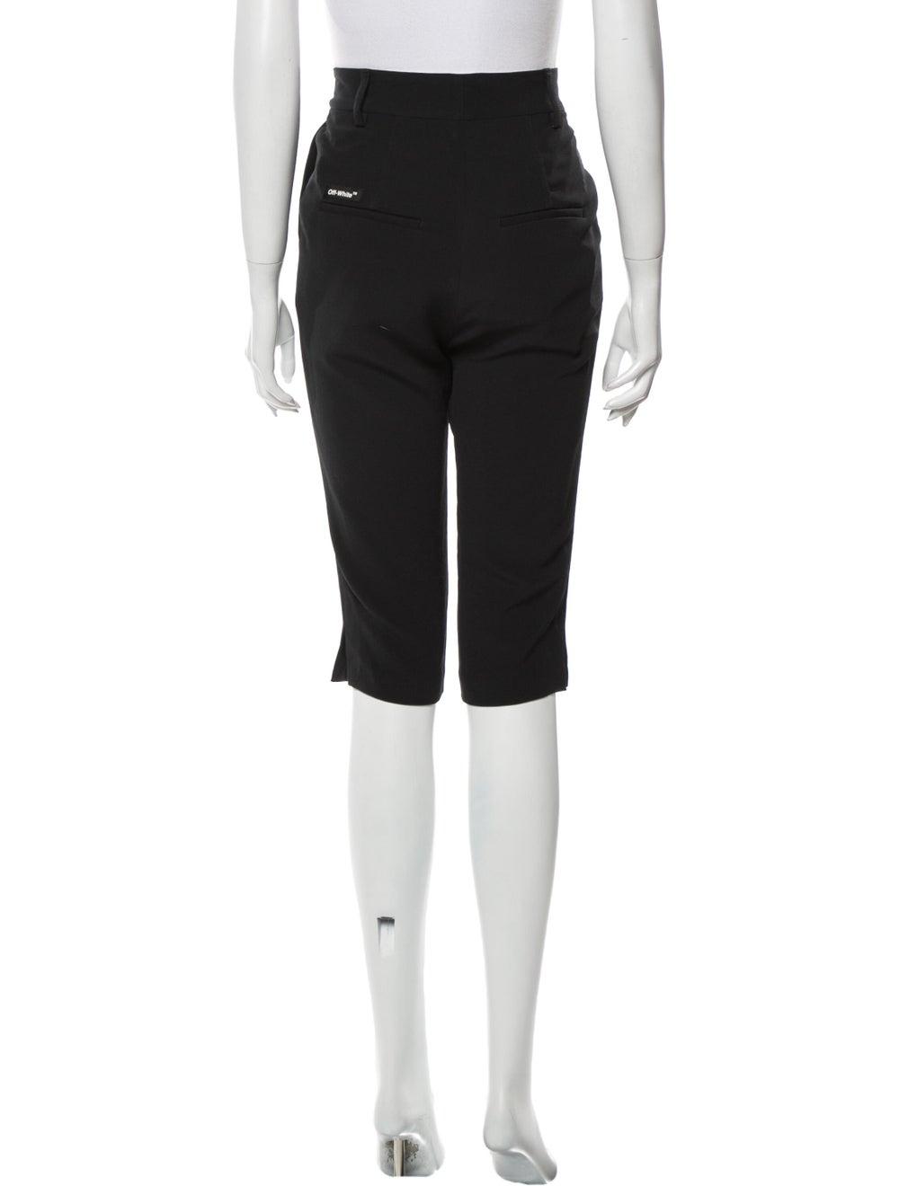 Off-White Knee-Length Shorts White - image 3