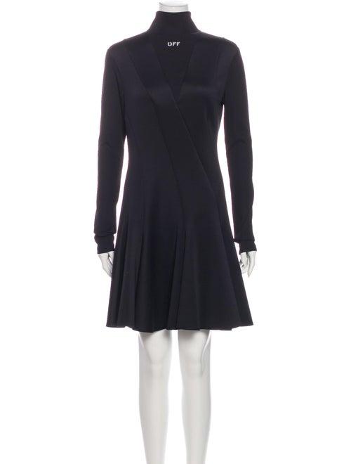 Off-White 2019 Knee-Length Dress w/ Tags White