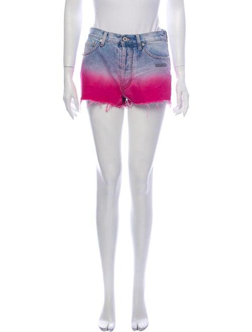 Off-White 2020 Degrade Shorts Mini Shorts w/ Tags