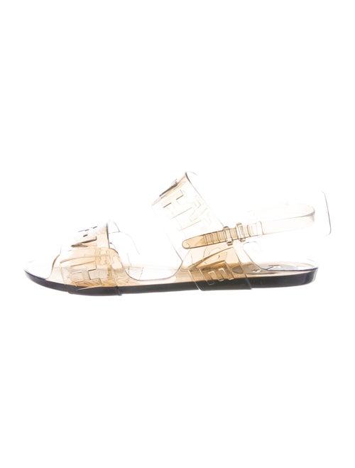 Off-White Slingback Sandals White