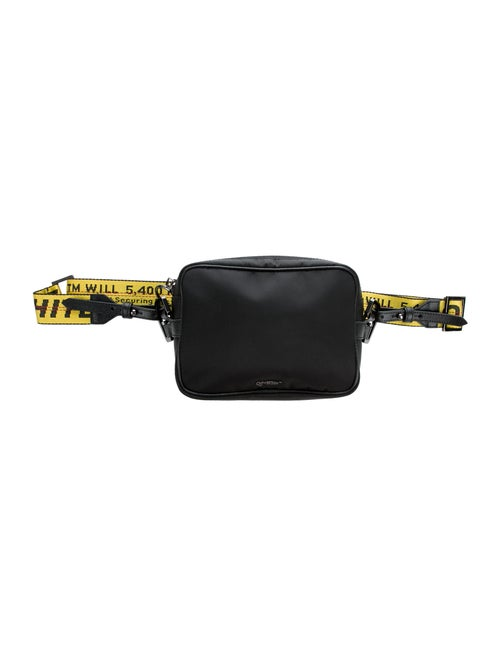 Off-White Carryover Crossbody Bag black