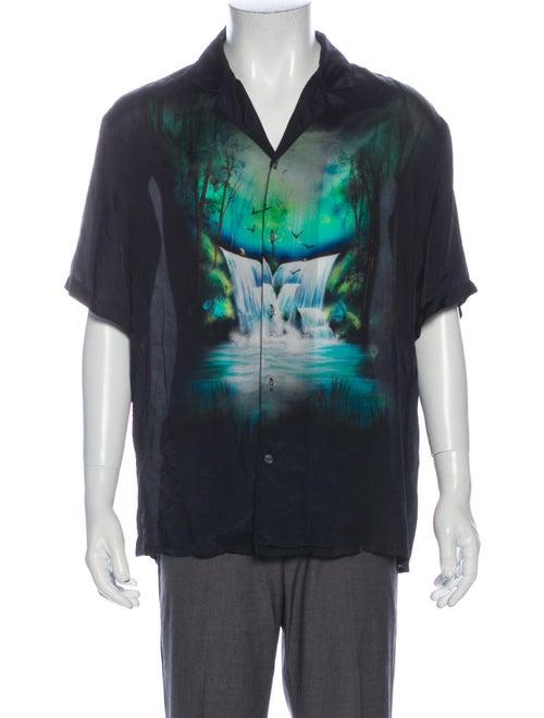 Off-White 2019 Waterfall Holiday Shirt White