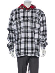 Off-White 2019 Flannel Check Windbreaker