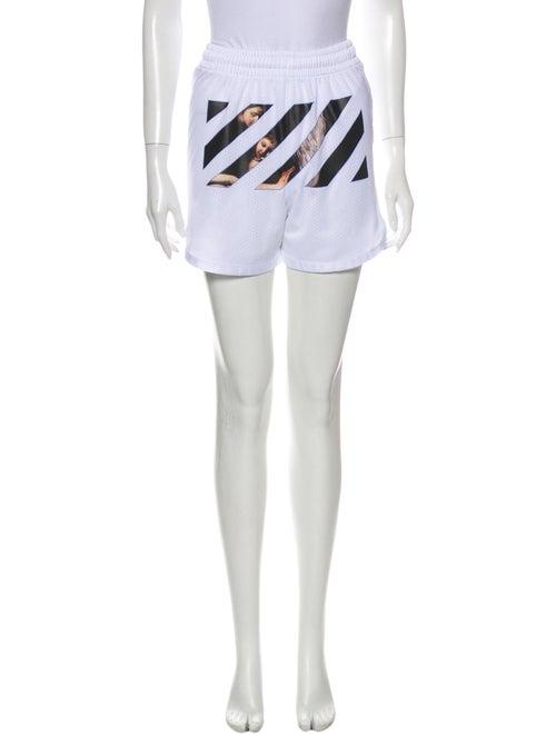 Off-White 2020 Mini Shorts White