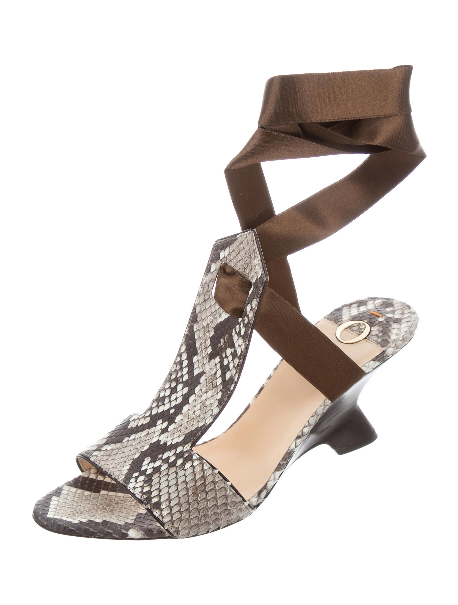 o jour snakeskin wedge sandals shoes ojo20086 the