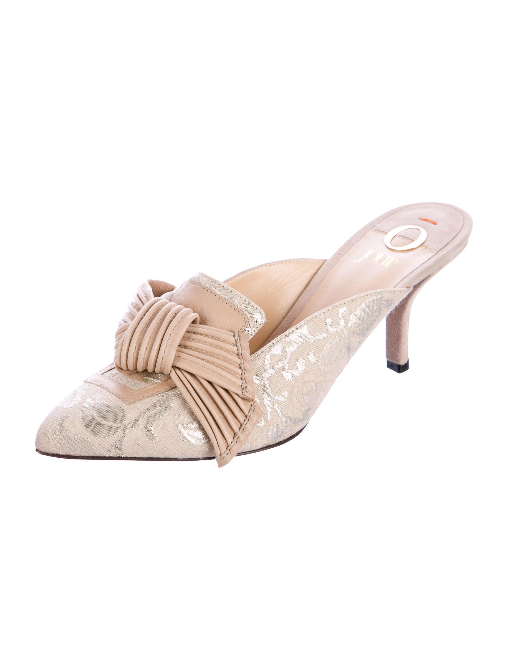 O Jour Cid Satin Mules cheapest price outlet new arrival latest for sale recommend dN5GDgpqIs