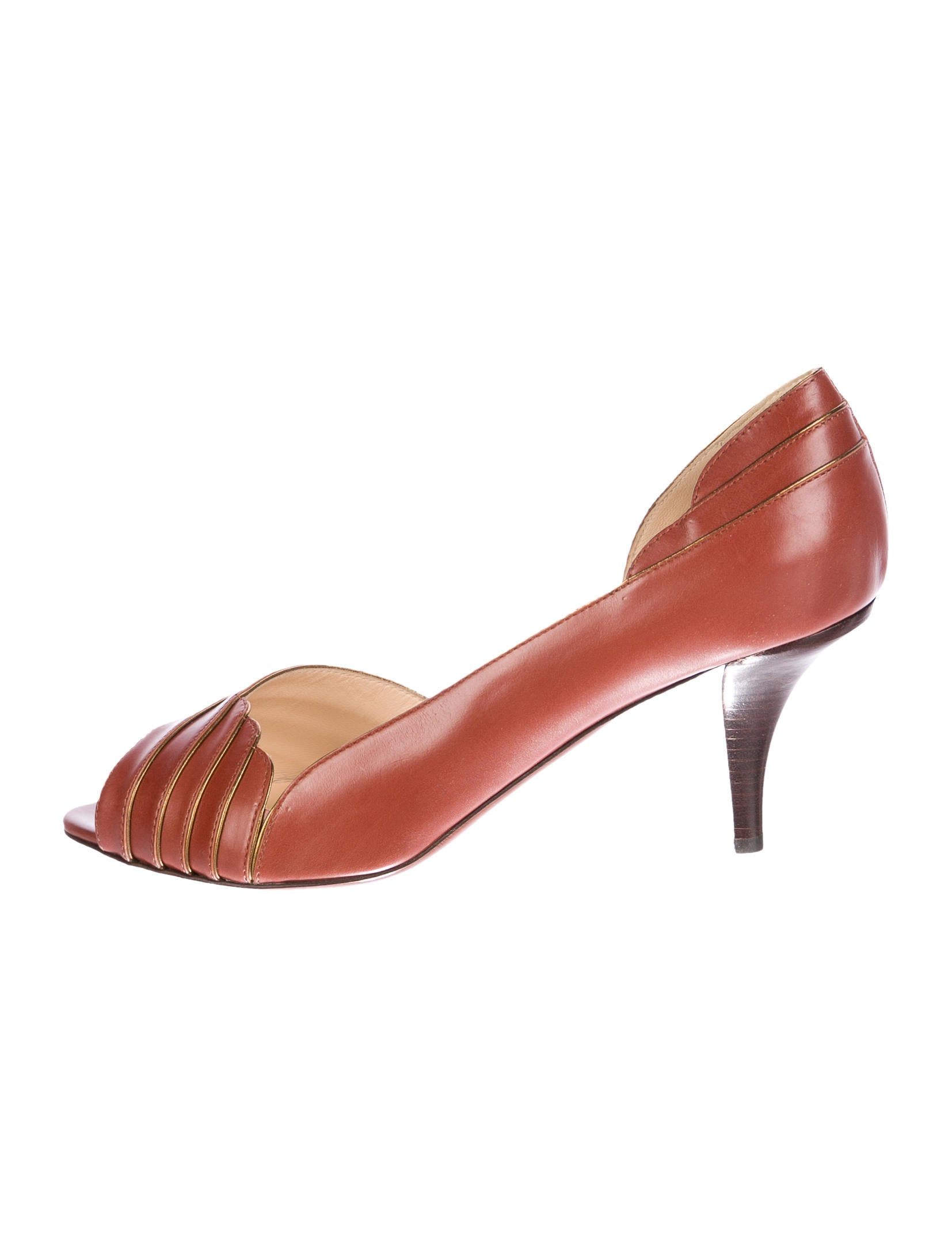 O Jour Leather Pointed-Toe Pumps cheap sale new excellent for sale clearance many kinds of best store to get sale online outlet 2014 newest Udqekr6C