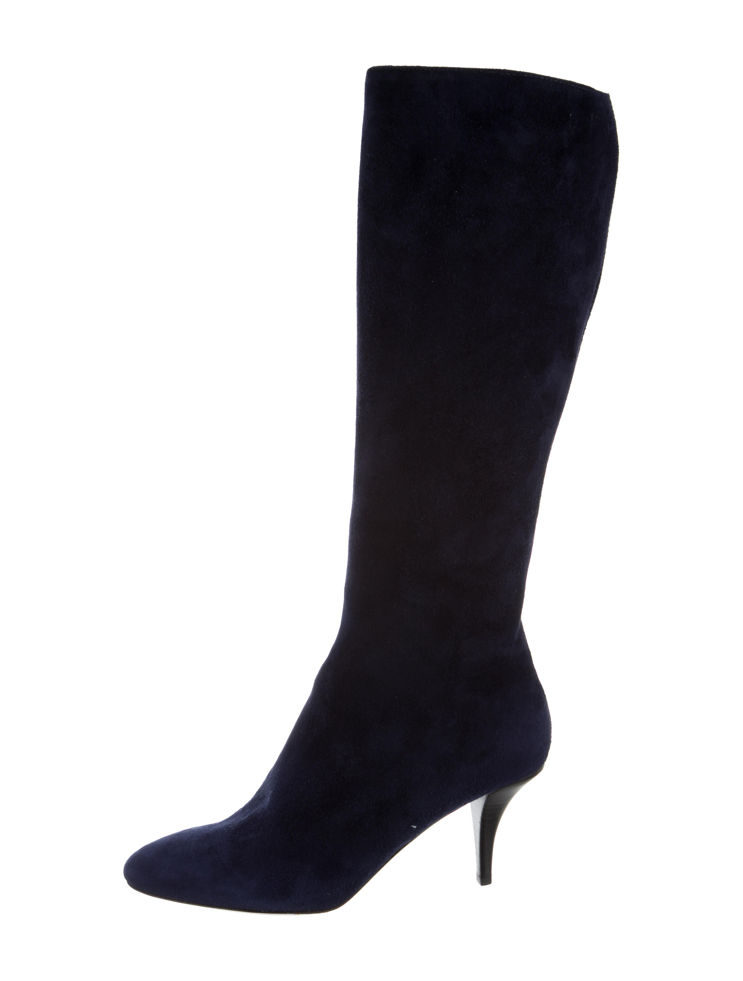 O Jour Suede Knee-High Boots cheap factory outlet many kinds of cheap price countdown package online v2AHdp