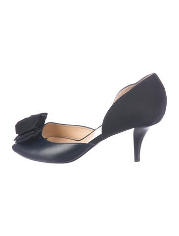 See by Chloé Leather d'Orsay Pumps outlet shop MZlLbJr