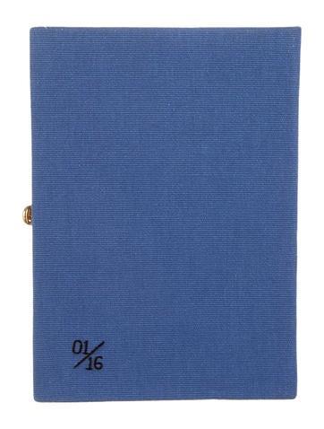 Book Clutch w/ Tags