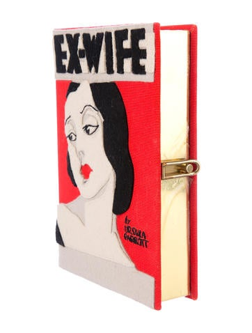 Ex-Wife Mini Book Clutch