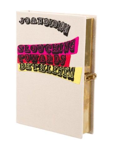 Slouching Towards Bethlehem Book Clutch