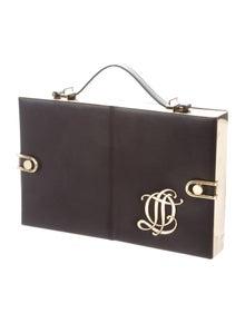 76e0a7bfe6c Olympia Le-Tan. Leather Compartment Bag