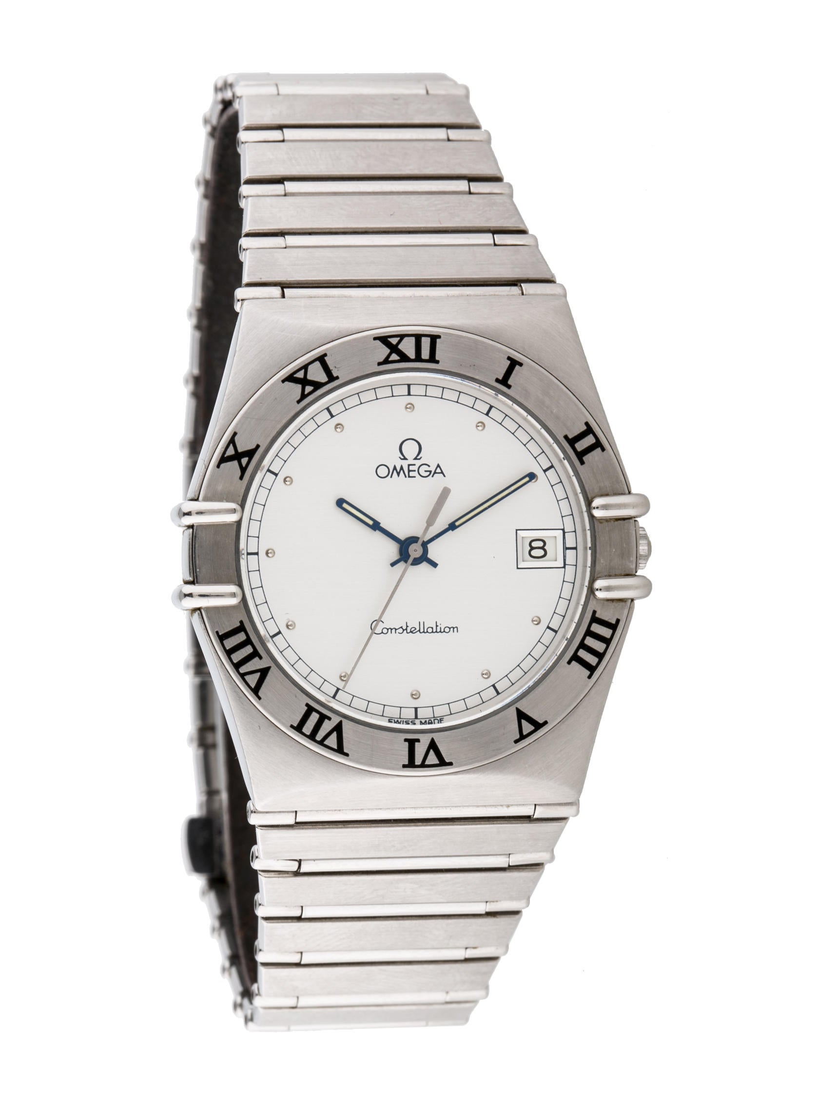Omega constellation watch bracelet omg20140 the realreal for Omega watch constellation