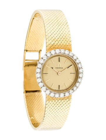 Omega Diamond Watch None