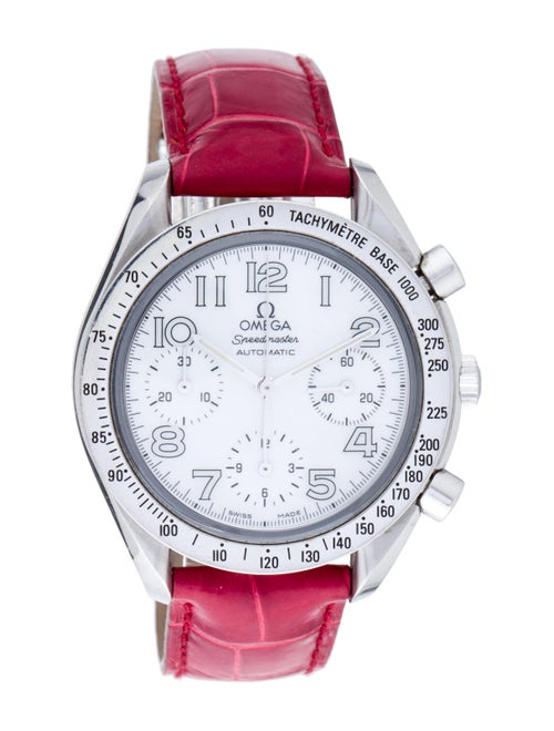 Omega Speedmaster Watch Red
