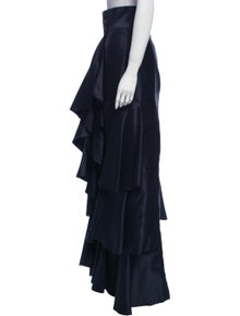 Johanna Ortiz Silk Long Skirt
