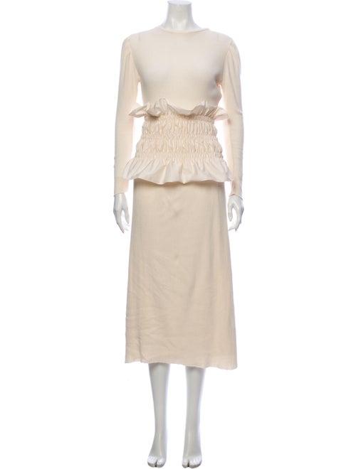 Johanna Ortiz Belted Long Dress