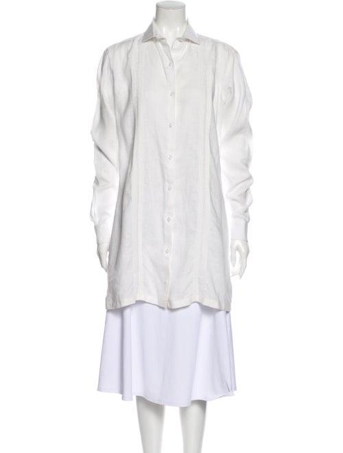 Johanna Ortiz Long Sleeve Tunic White
