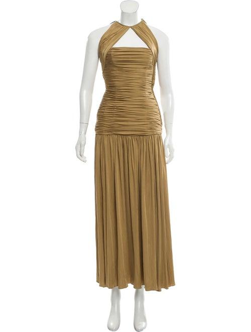 Oscar de la Renta Sleeveless Maxi Dress