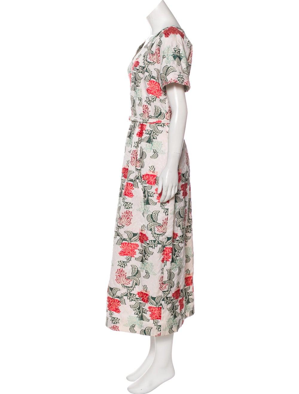 Oscar de la Renta 2017 Maxi Dress w/ Tags White - image 2