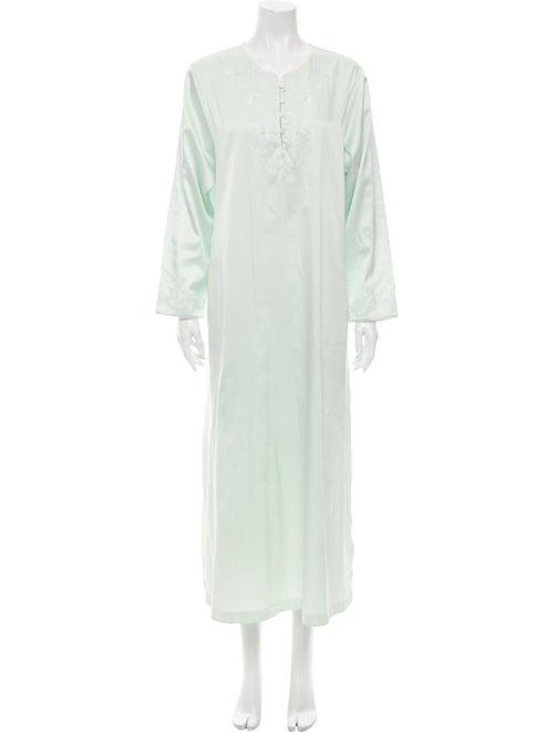 Oscar de la Renta Nightgown Green