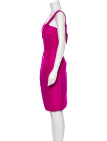 Oscar de la Renta 2008 Knee-Length Dress